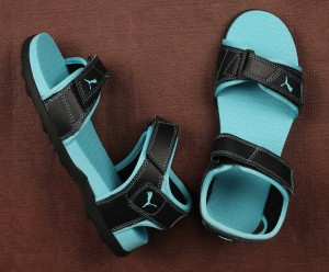 8b8a640e4fb Puma Women Puma Black Blue Atoll Sports Sandals Best Price in India ...