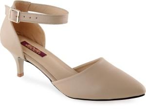2ef1c86ddc78 Shuz Touch Women BEIGE Heels Best Price in India