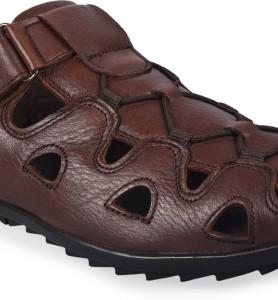 045d10f5fe4d DOC MARK Men Brown Sandals Best Price in India