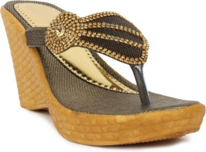Star Style Women Copper Wedges