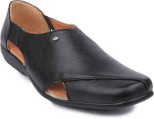 1cb445ce91514d Action Shoes Men Black Sandals Best Price in India
