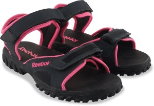 3db061f75361 Reebok Women GRAVEL ELECTRO PINK BLACK Sports Sandals available at Flipkart  for Rs.