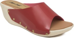 Adjoin Steps Women Peach Wedges