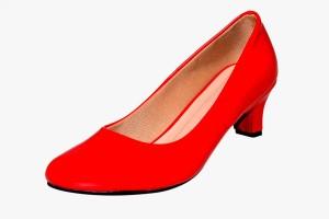 Visach Women Red Flats