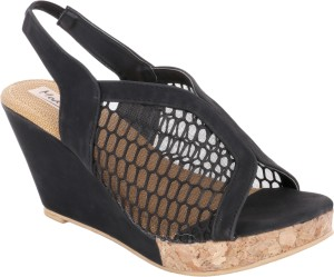 d4c5681a04b0 Modin Women Black Wedges Best Price in India
