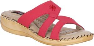 Mappy Women Red Flats