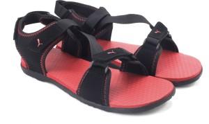 Puma Men black high risk red Sports Sandals Best Price in India ... cec3f1a64faf