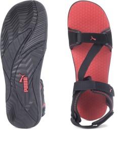 edec2cc8d Puma Men black high risk red Sports Sandals Best Price in India ...