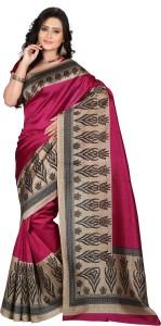 19368cf7d79ee E Vastram Printed Bollywood Art Silk Saree Pink Best Price in India ...