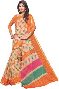 Lady Sringar Printed Bollywood Silk Cotton Blend Saree