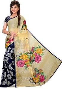 Nilesh Fab Floral Print Bollywood Pure Georgette Saree