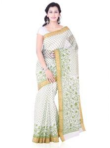 Roopkala Silks Printed Bollywood Cotton Saree