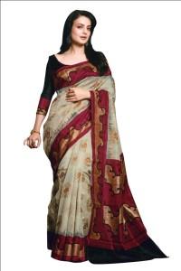 Satrang Printed Fashion Art Silk Saree