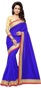 Mirchi Fashion Embellished Bollywood Art Silk Saree