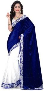 Jhilmil Solid Bollywood Velvet Saree