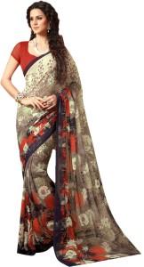 Yetnik Printed Bollywood Chiffon Saree