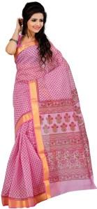 Roopkala Silks Printed Fashion Cotton Saree