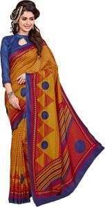 DESIGN WILLA Printed Bollywood Art Silk Saree