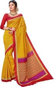 Yetnik Printed Fashion Silk Cotton Blend Saree