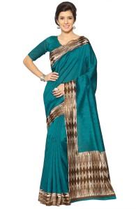 Mirchi Fashion Printed Bollywood Art Silk Saree