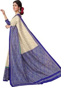 AJS Embellished Fashion Crepe Saree
