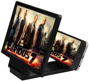Rissachi 3D Magnifier Glass Enlarge Screen Mobile Holder