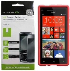 Case-Mate Screen Guard for HTC 8X