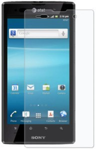 Amzer 94240 Anti-Glare Screen Protector with Cleaning Cloth for Sony Xperia Ion