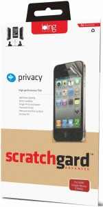 Scratchgard Privacy Screen Guard for Samsung I8552 Galaxy Grand Quattro