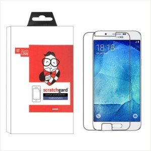 Scratchgard Tempered Glass Guard for Samsung Galaxy A8 A800F