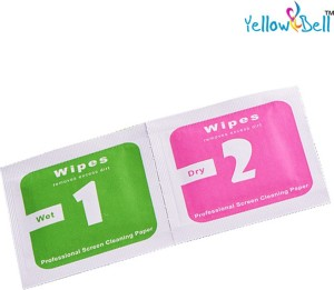 Yellow Bell Wipes for Mobiles