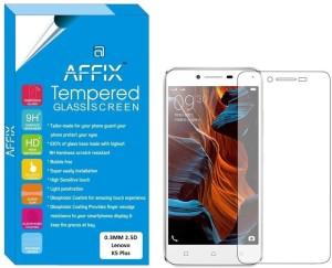 Affix Tempered Glass Guard for Lenovo Vibe K5 Plus (5.0