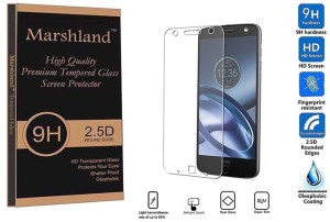 Marshland Tempered Glass Guard for Moto Z Force