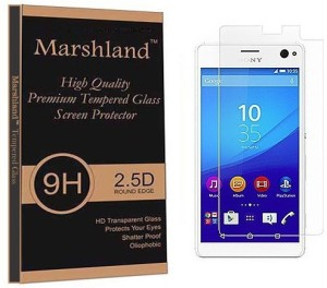 Marshland Tempered Glass Guard for Sony Xperia C4