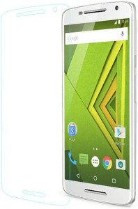 Saral Tempered Glass Guard for Moto X Play