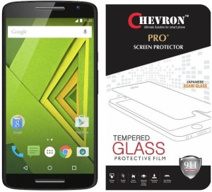 Chevron Tempered Glass Guard for Motorola Moto X Play