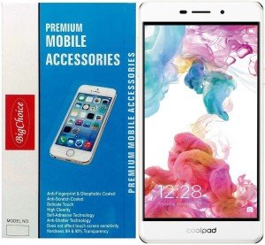 BigChoice Tempered Glass Guard for Coolpad Mega 2.5D