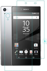 Kushwaha Tempered Glass Guard for Sony Xperia Z5 Dual (Front & Back)
