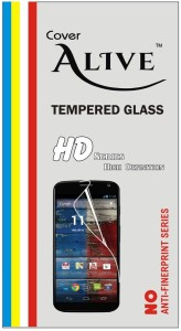 Cover Alive Tempered Glass Guard for YU Yureka Note