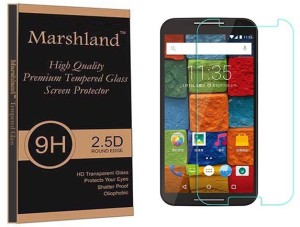 Marshland Tempered Glass Guard for Moto X2