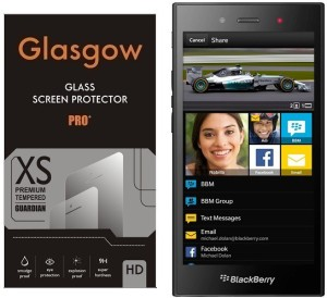 Glasgow Tempered Glass Guard for BlackBerry Z3 Best Price in India | Glasgow Tempered Glass Guard for BlackBerry Z3 Compare Price List From Glasgow Screen ...