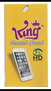 King Tempered Glass Guard for Apple iPhone 5s