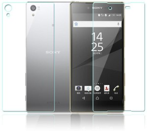 Kushwaha Tempered Glass Guard for Sony Xperia Z5 Premium (Front & Back)