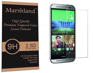 Marshland Tempered Glass Guard for HTC Desire 820q Dual Sim