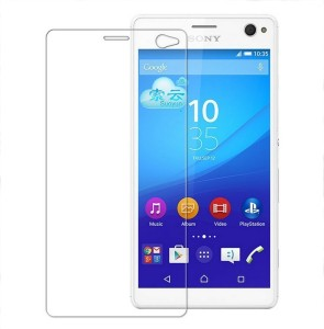 MOBIVIILE Tempered Glass Guard for Sony Xperia C4 /Sony Xperia C4 Dual SIM