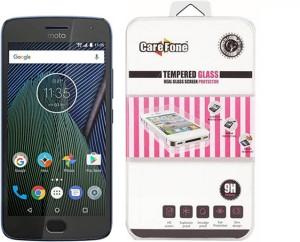 CareFone Tempered Glass Guard for Motorola Moto G5 Plus