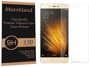 Marshland Tempered Glass Guard for Xiaomi Mi5 S