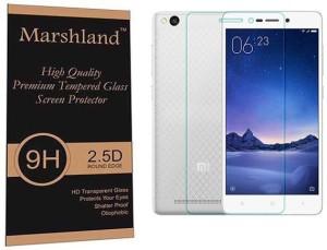 Marshland Tempered Glass Guard for Xiaomi Redmi 3S