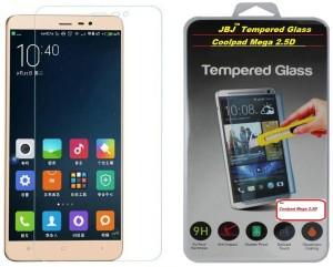 JBJ Tempered Glass Guard for Coolpad Mega 2.5D