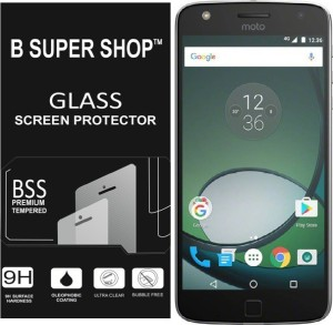 B SUPER SHOP Tempered Glass Guard for Motorola Moto Z Play